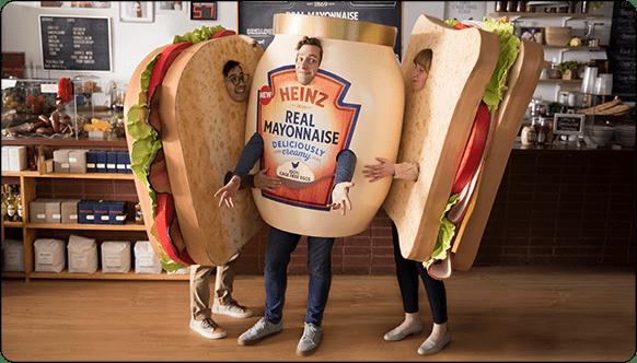 Sandwiches Can't Resist HEINZ