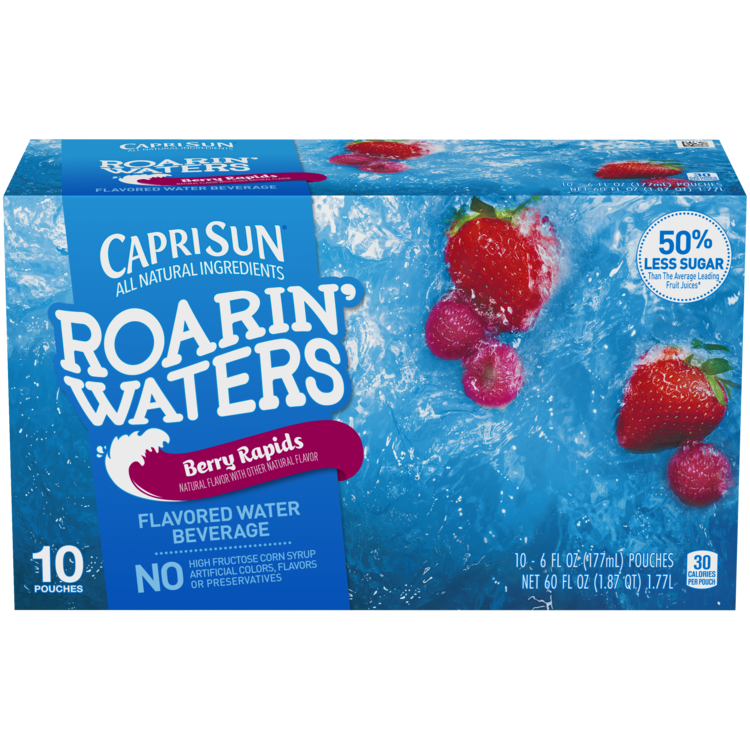 Capri Sun Roarin' Waters Berry Rapids 10 - 6 fl oz Pouches