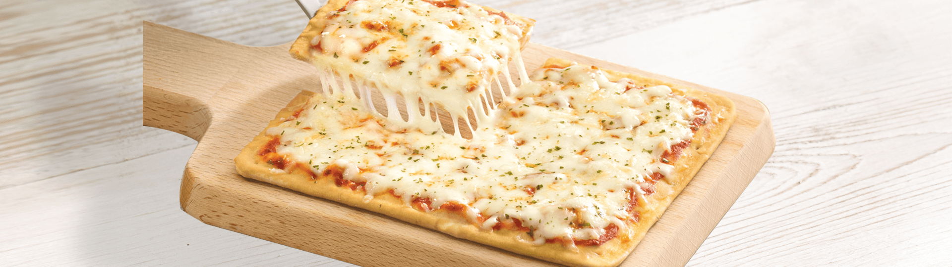 CHEESE THIN CRUST PIZZA