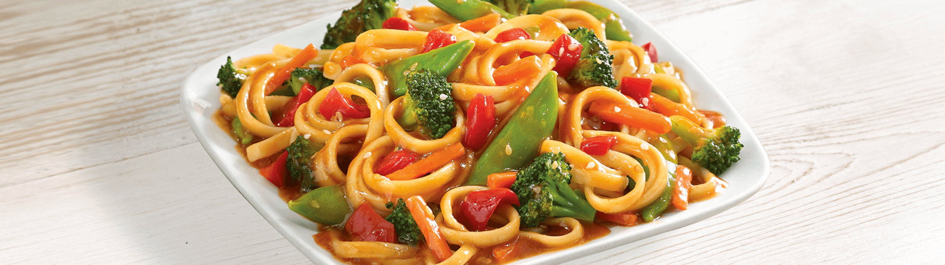 SESAME NOODLE WITH VEGETABLE