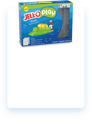 JELL-O Play Build + Eat Kits