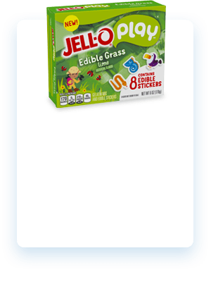 JELL-O Play Edible Stickers