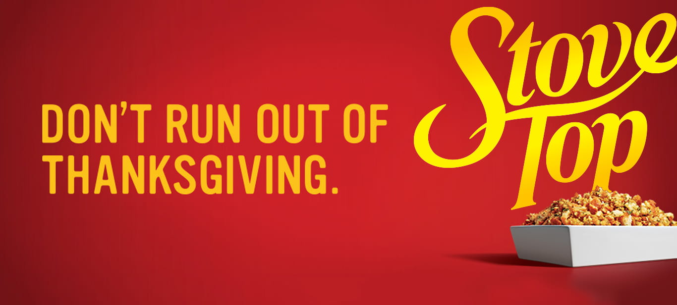 Don't run out of thanksgiving.