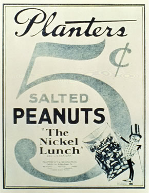 Planters The nickel Lunch