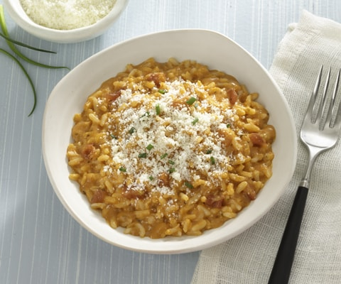 Four Cheese Tomato Risotto