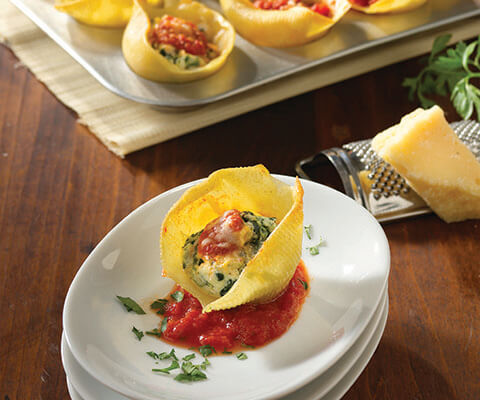 Jumbo Stuffed Shells Appetizer