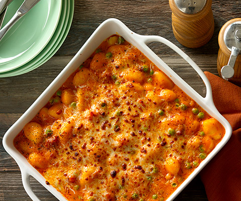 Gnocchi Four Cheese Bake