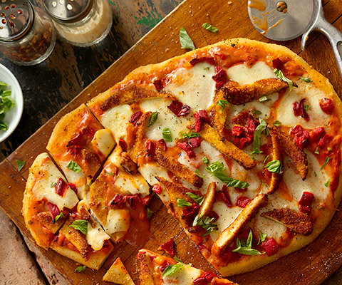 Chicken Parmesan Pizza