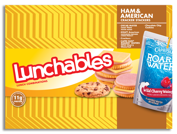 Ham + American Cracker Stackers