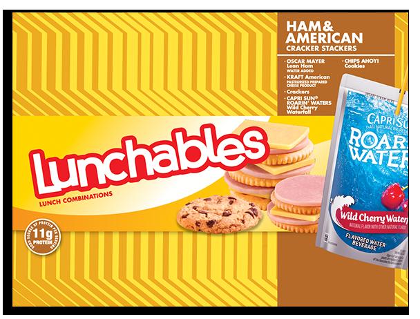 Ham + American Cracker Stackers