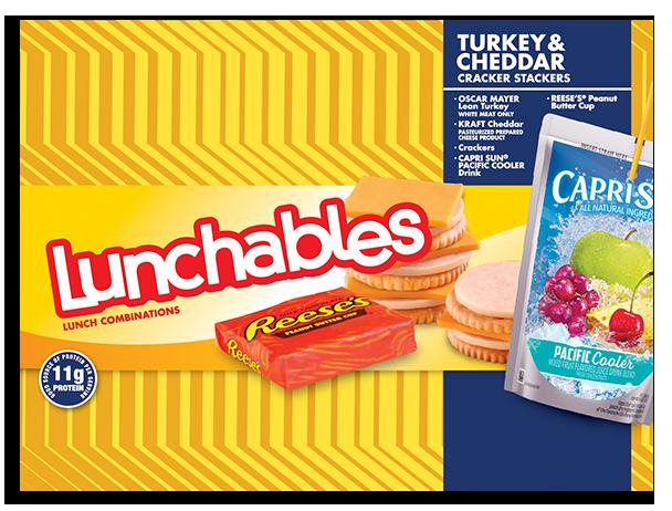 Turkey + Cheddar Cracker Stackers