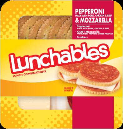 Pepperoni + Mozzarella with Crackers