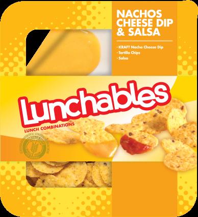 Nachos Cheese Dip + Salsa