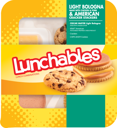 Light Bologna + American Cracker Stackers