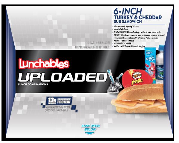6-Inch Turkey + Cheddar Sub Sandwich