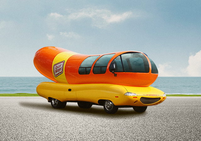The Famous Wienermobile