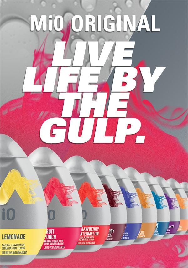 Live life in the gulp
