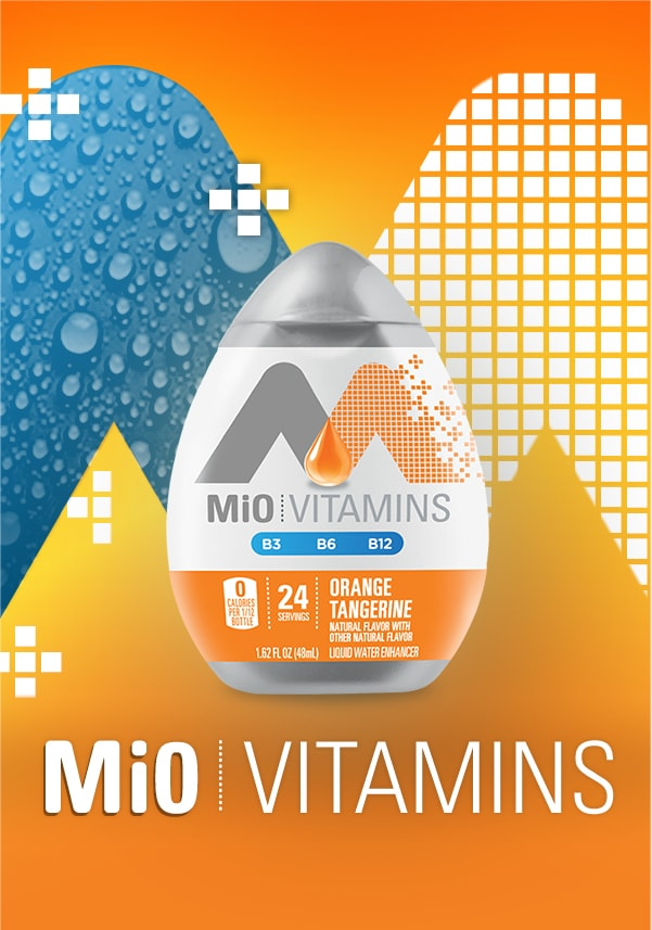 B Vitamins Water Enhancer| B12, B6, B3, | MiO Vitamins