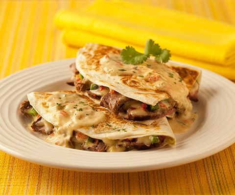 Spicy Steak Quesadilla