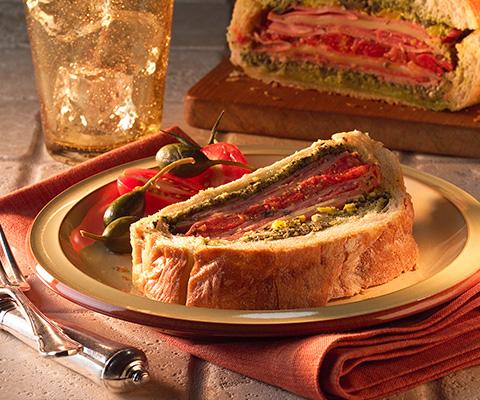Stuffed Italian-style Deli Sandwich