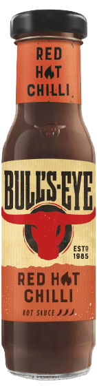 Bull's-Eye Red Hot Chilli Hot Sauce