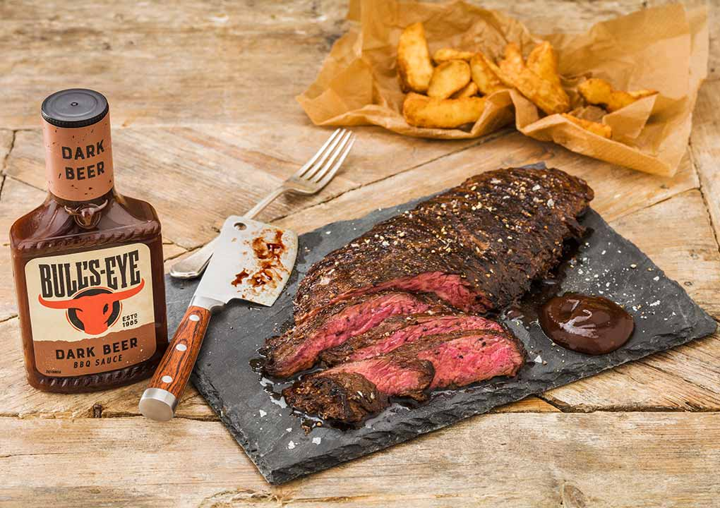 Dark beer bavette steak recipe