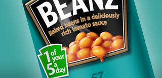 How many cans of Heinz Beanz does Heinz sell every day in the UK? image