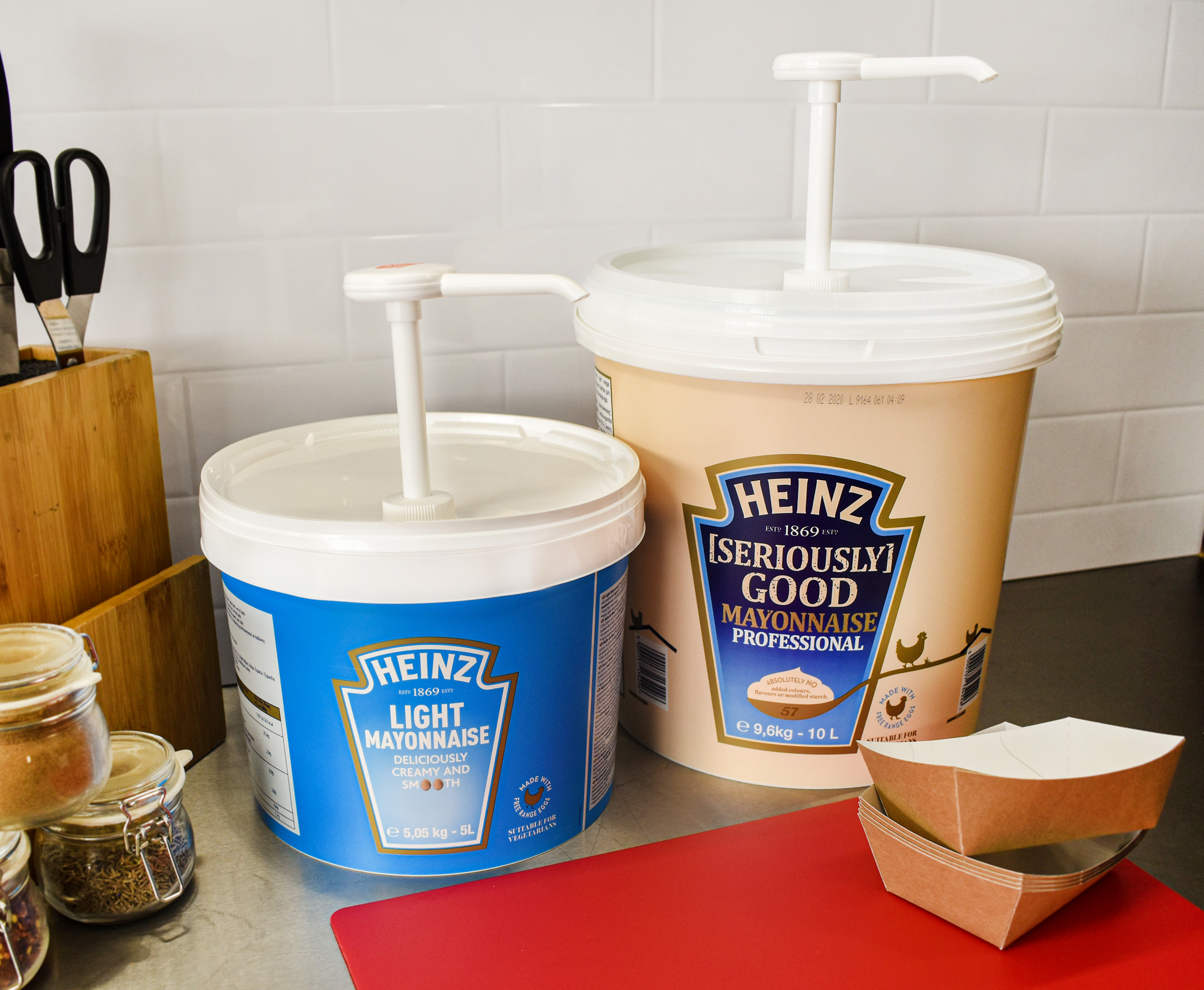 Heinz Light Mayonnaise 5L Pail