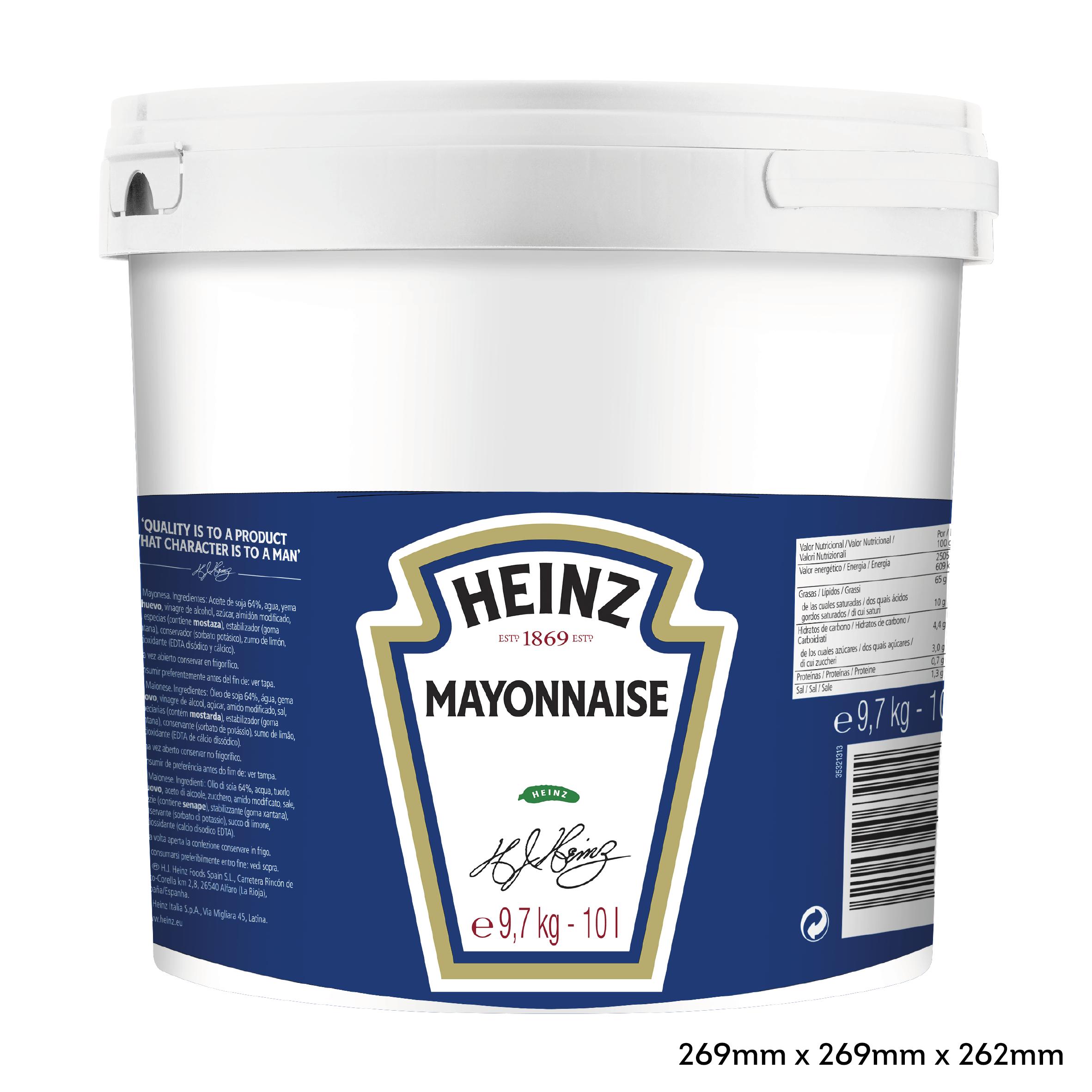 Heinz Mayonnaise 10L Pail