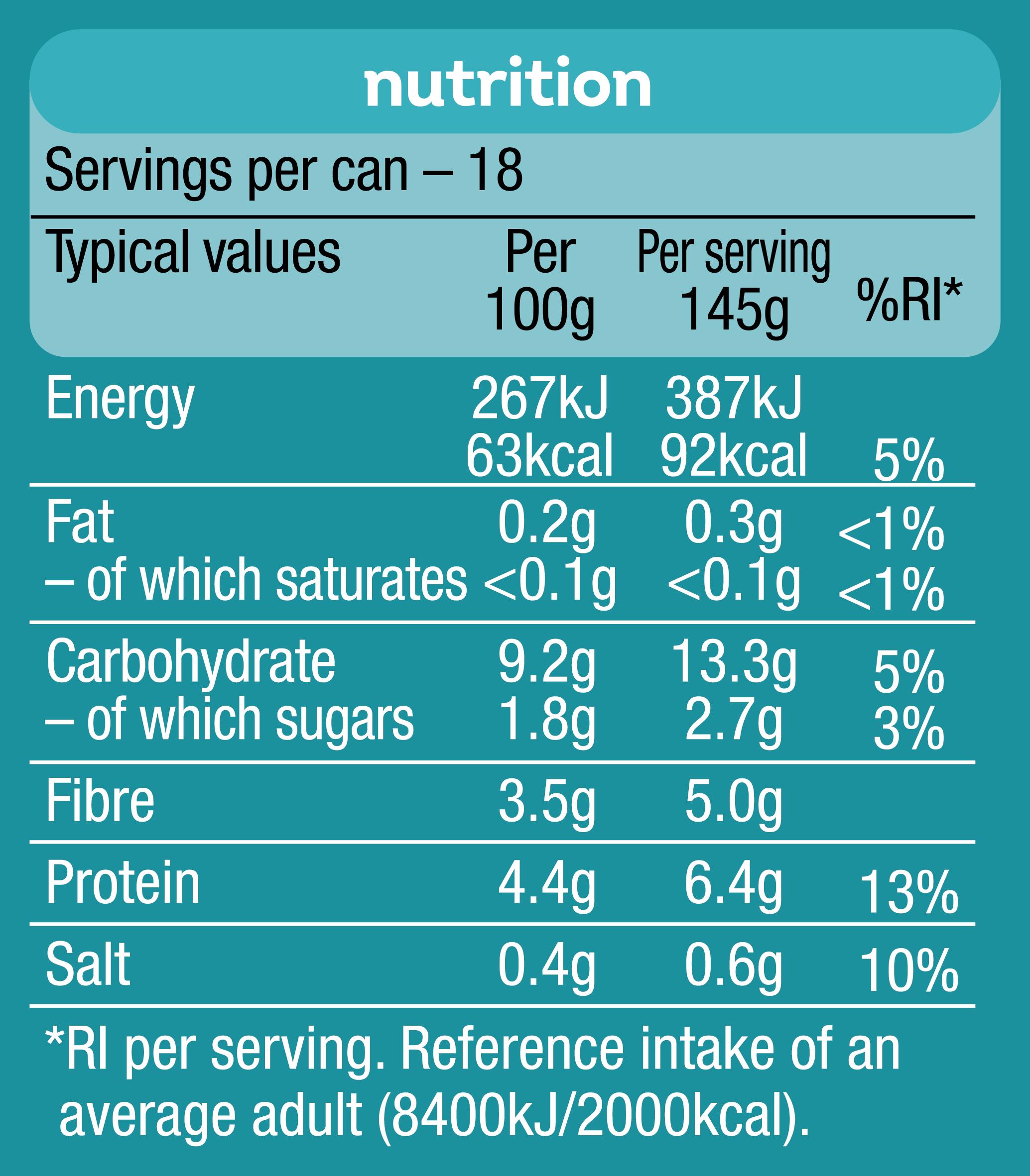 Heinz Beanz No Added Sugar 2.62kg Big Can