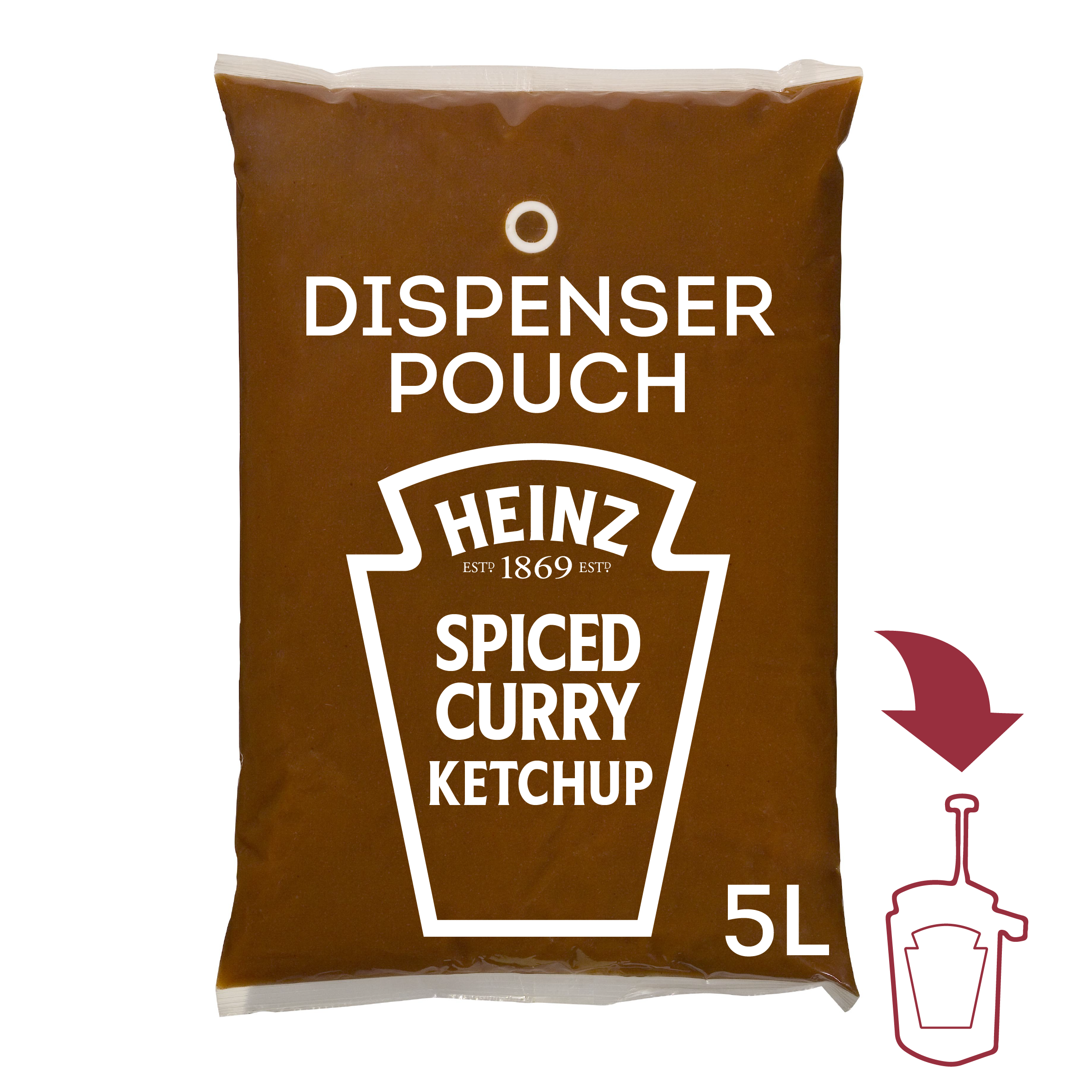Heinz SOM Pittige Curry Gewurz 5L image