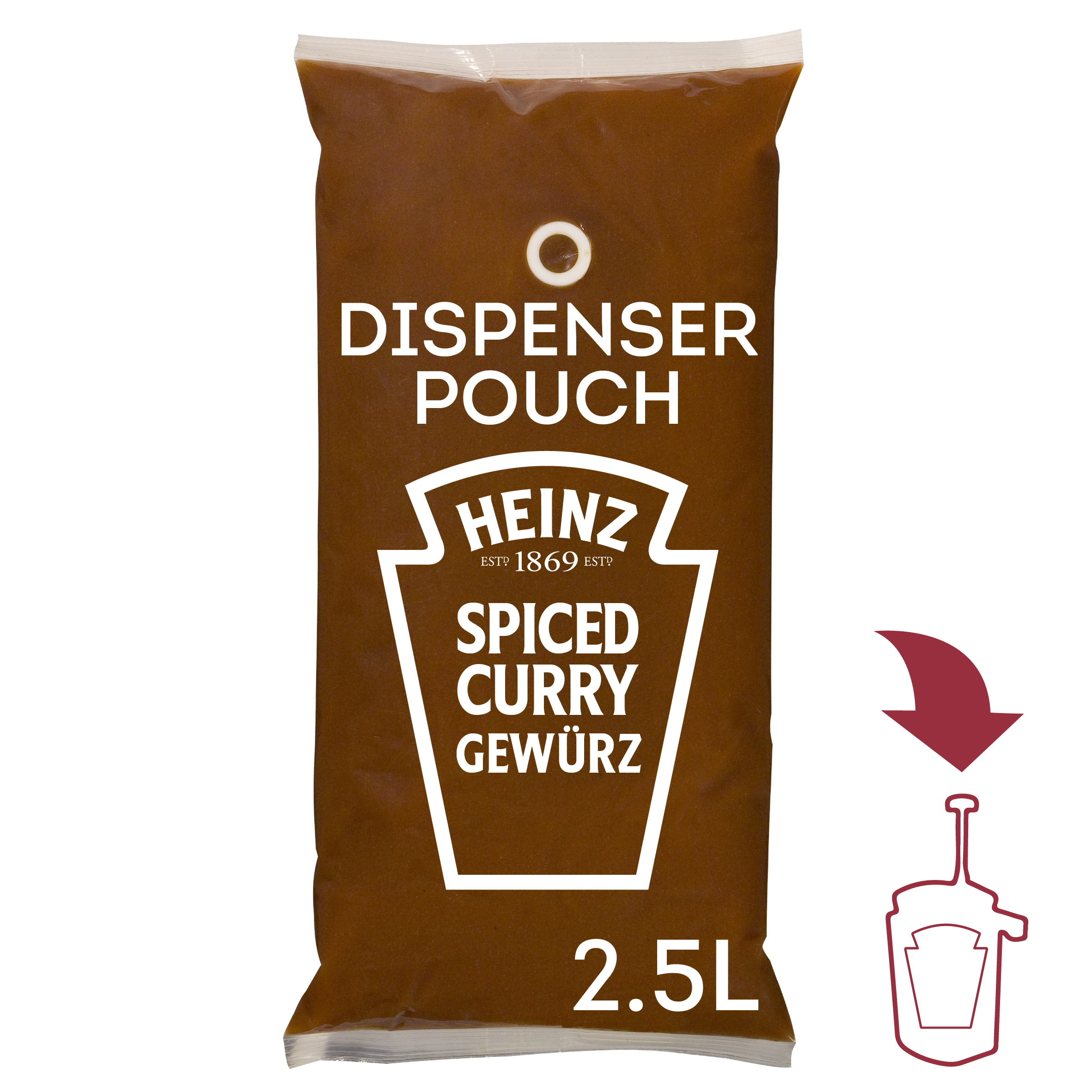 Heinz SOM Pittige Curry Gewurz 2.5L image