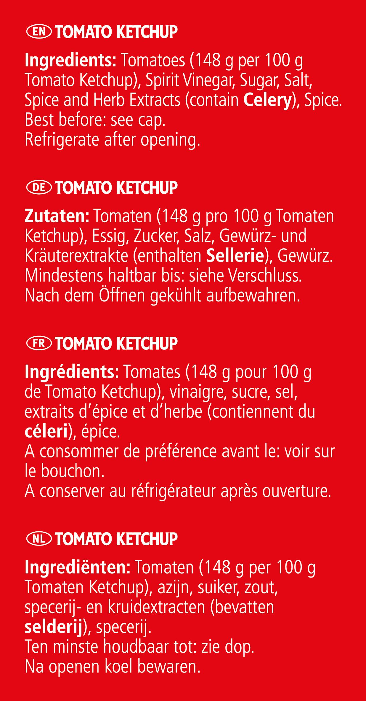 Heinz Tomato Ketchup 2.15L Jars