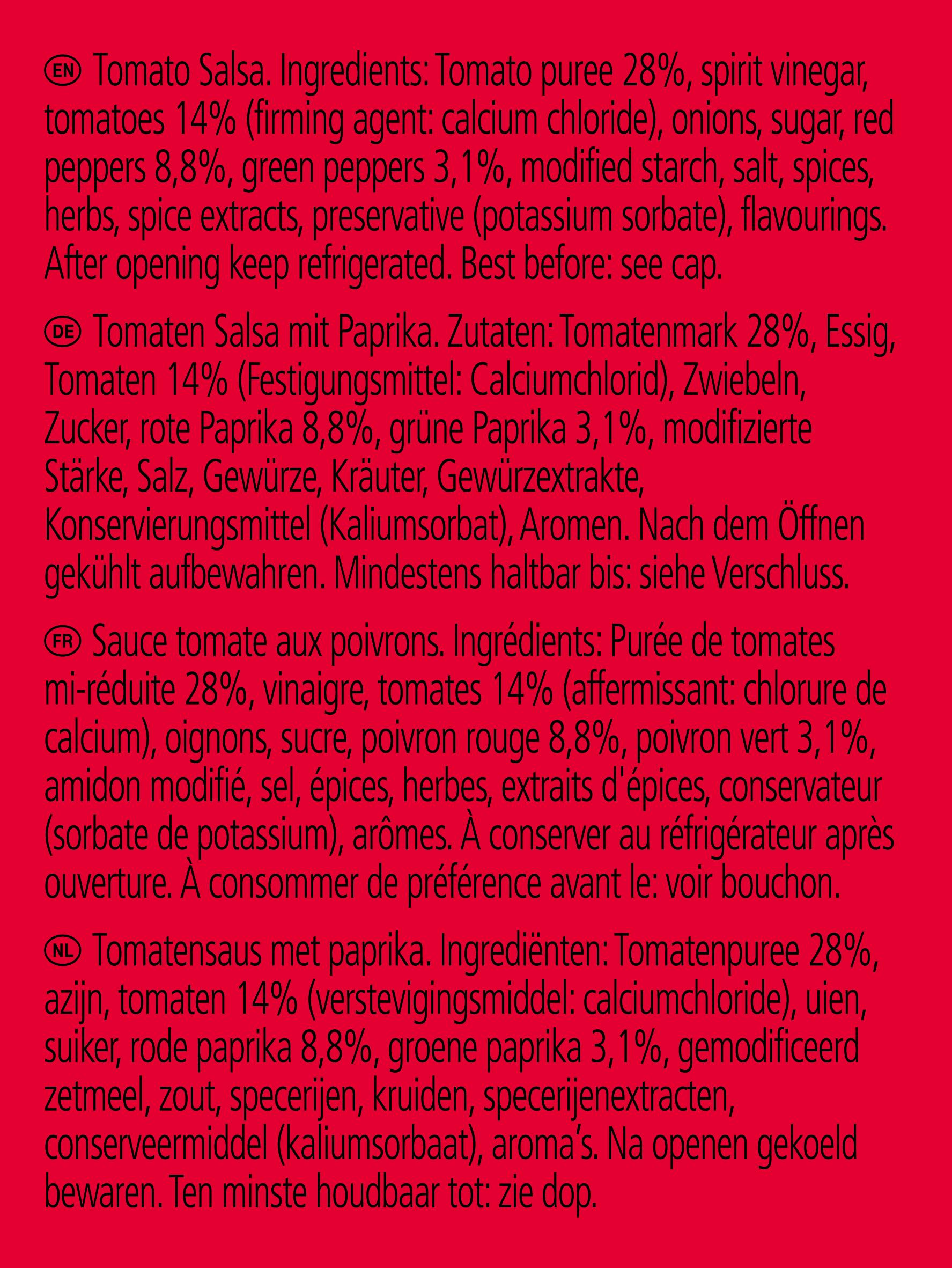 Salsa pomidorowa Heinz 2.15L słoik plastikowy
