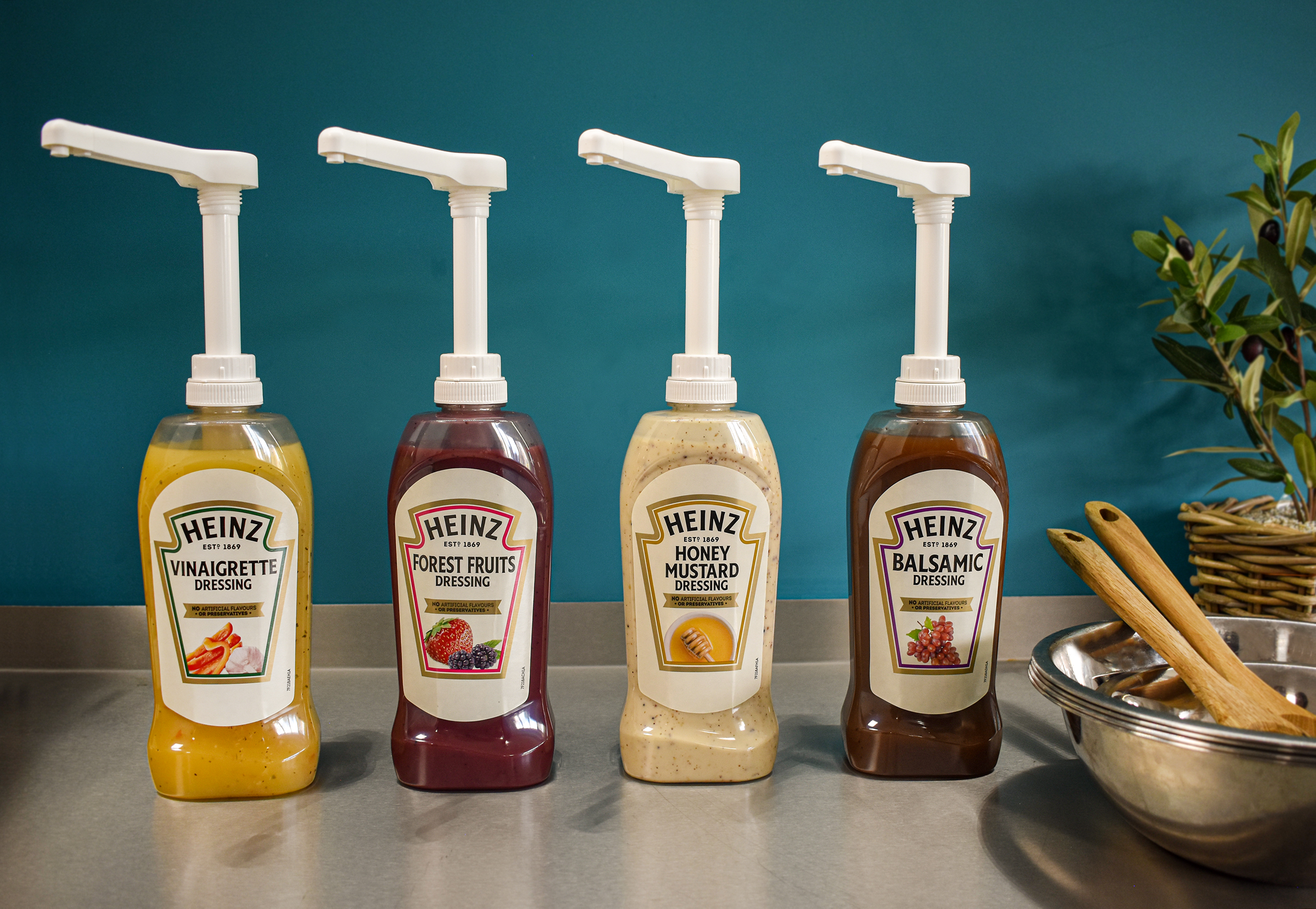 Heinz Honey&Mustard 800ml Bottom Up