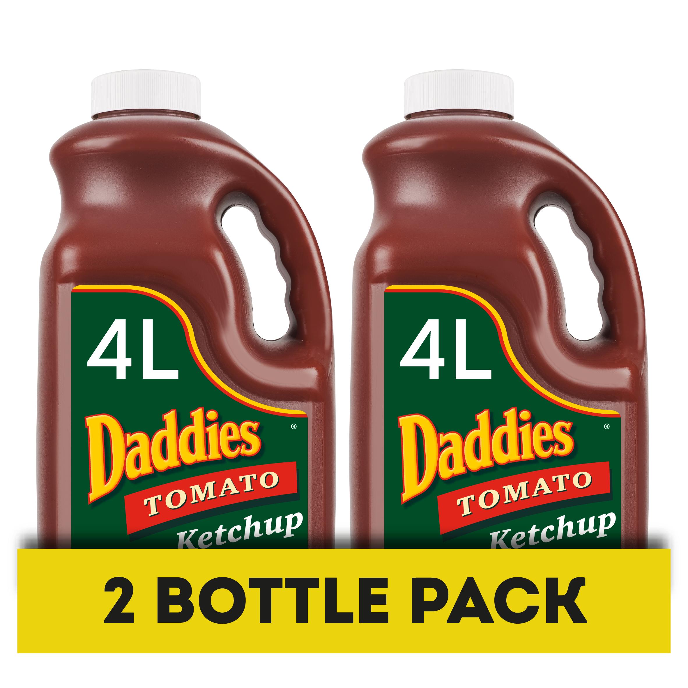 Daddies Tomato Ketchup 4L Handle Jars