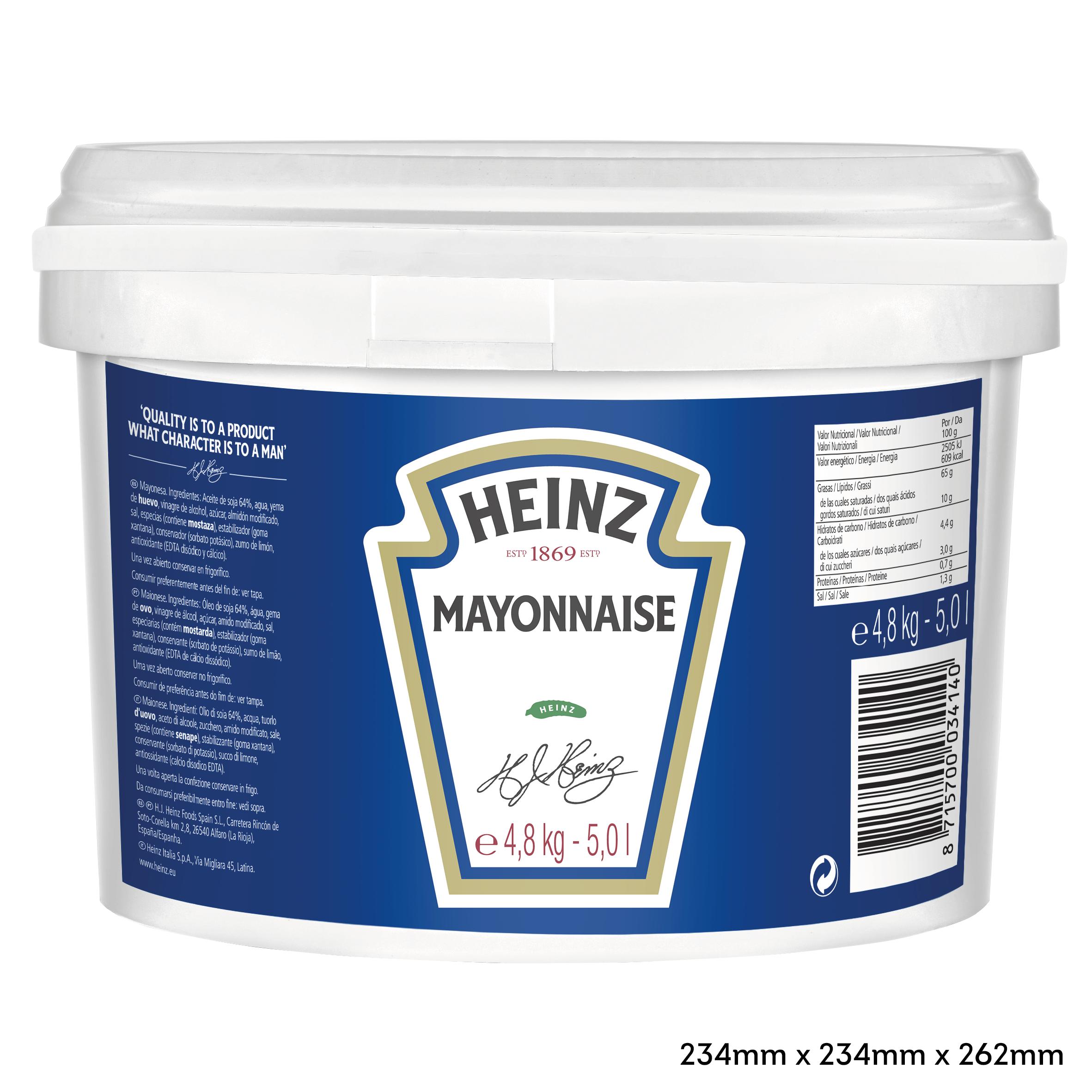 Heinz Mayonnaise 5L Pail