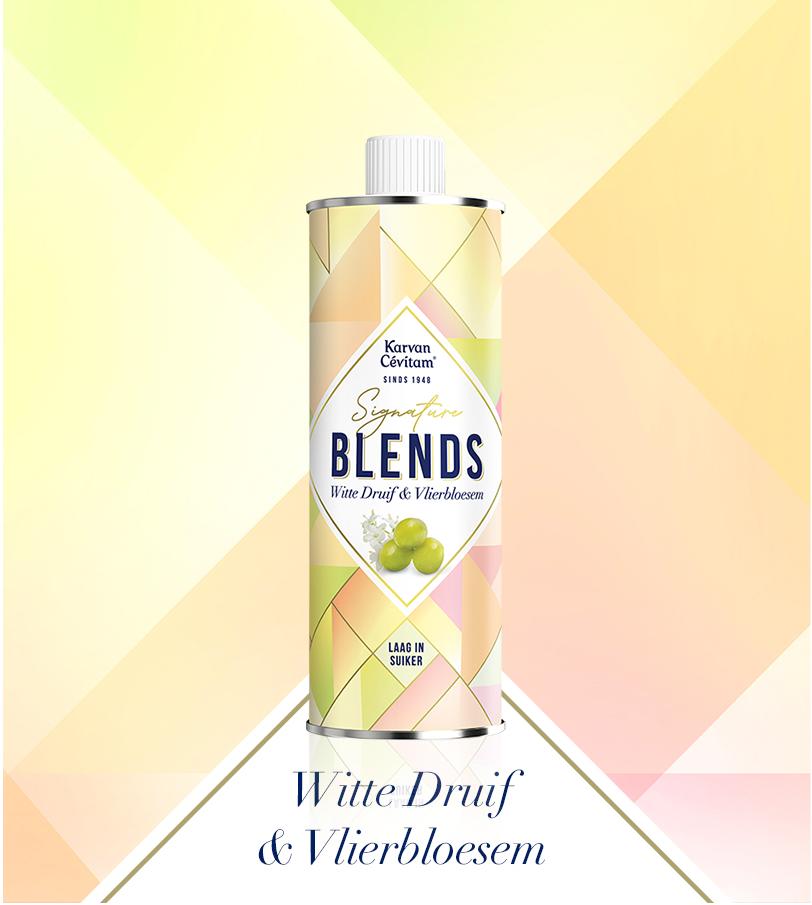 Witte druif vlierbloesem limonade