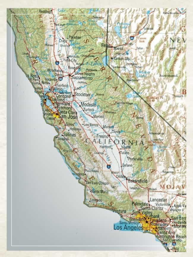 Why Escalon Map