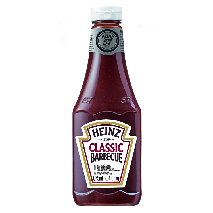 Heinz Classic Barbecue 875ml Up Right image