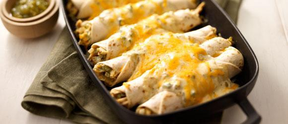 Chicken Enchilada Casseroles