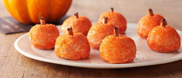 Orange Halloween Treats