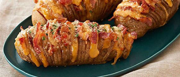 Cheesy Potatoes With Bacon