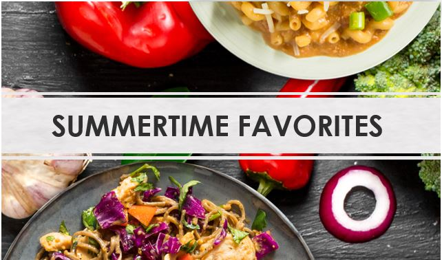 Duane's World Summertime Favorite Recipes