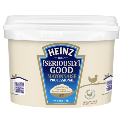 Heinz [Seriously] Good Mayonnaise 5L Pail image