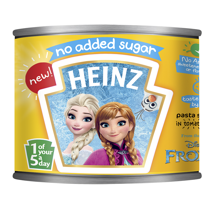 No Added Sugar Disney Frozen Pasta Shapes