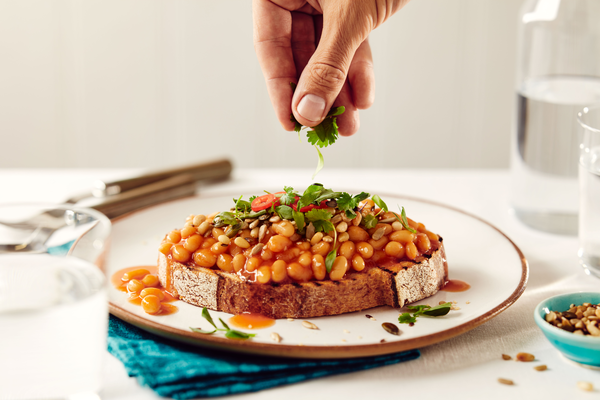 Posh Beanz on Toast