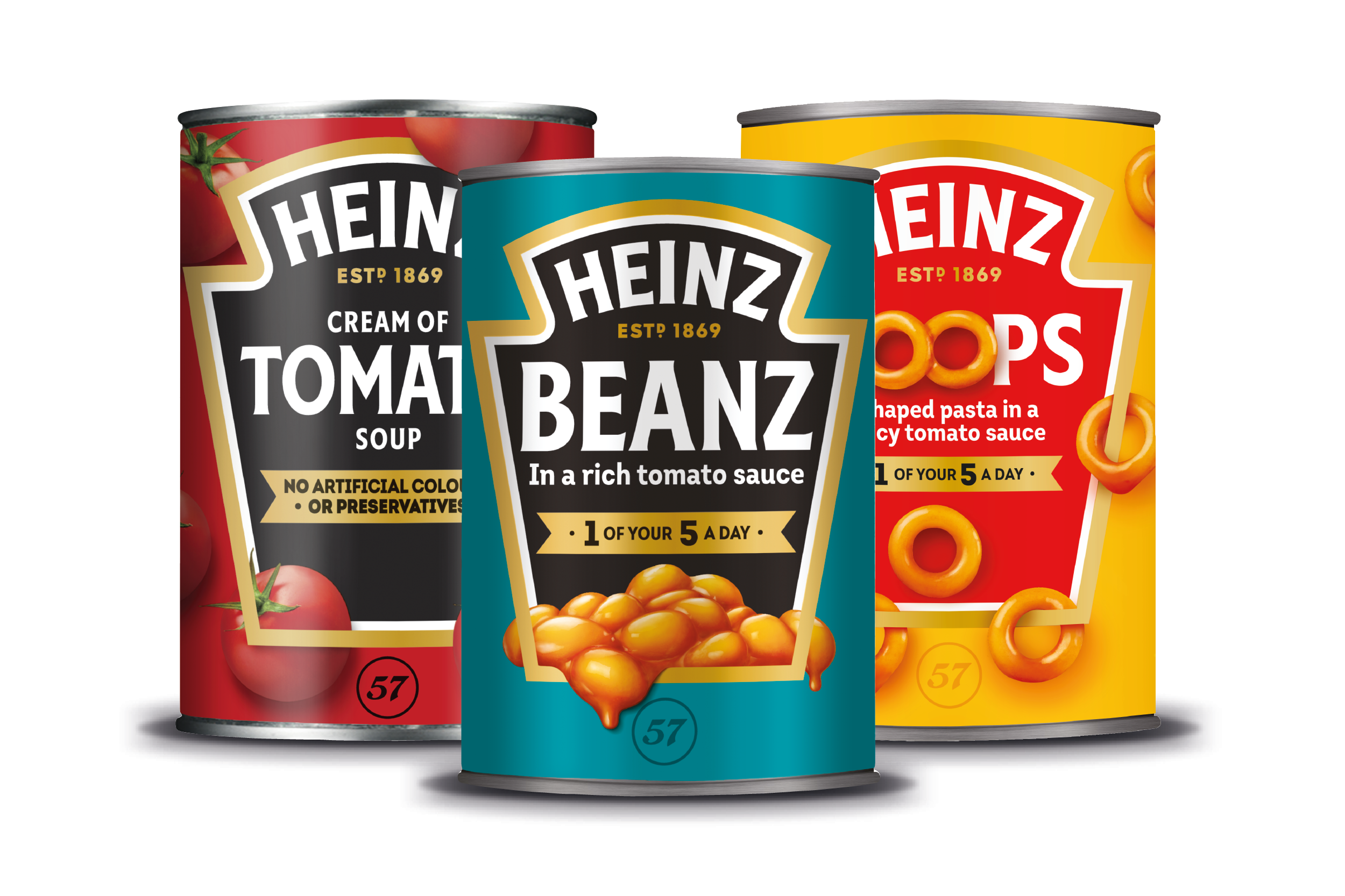 Heinz 'Cans' Plastic Packaging