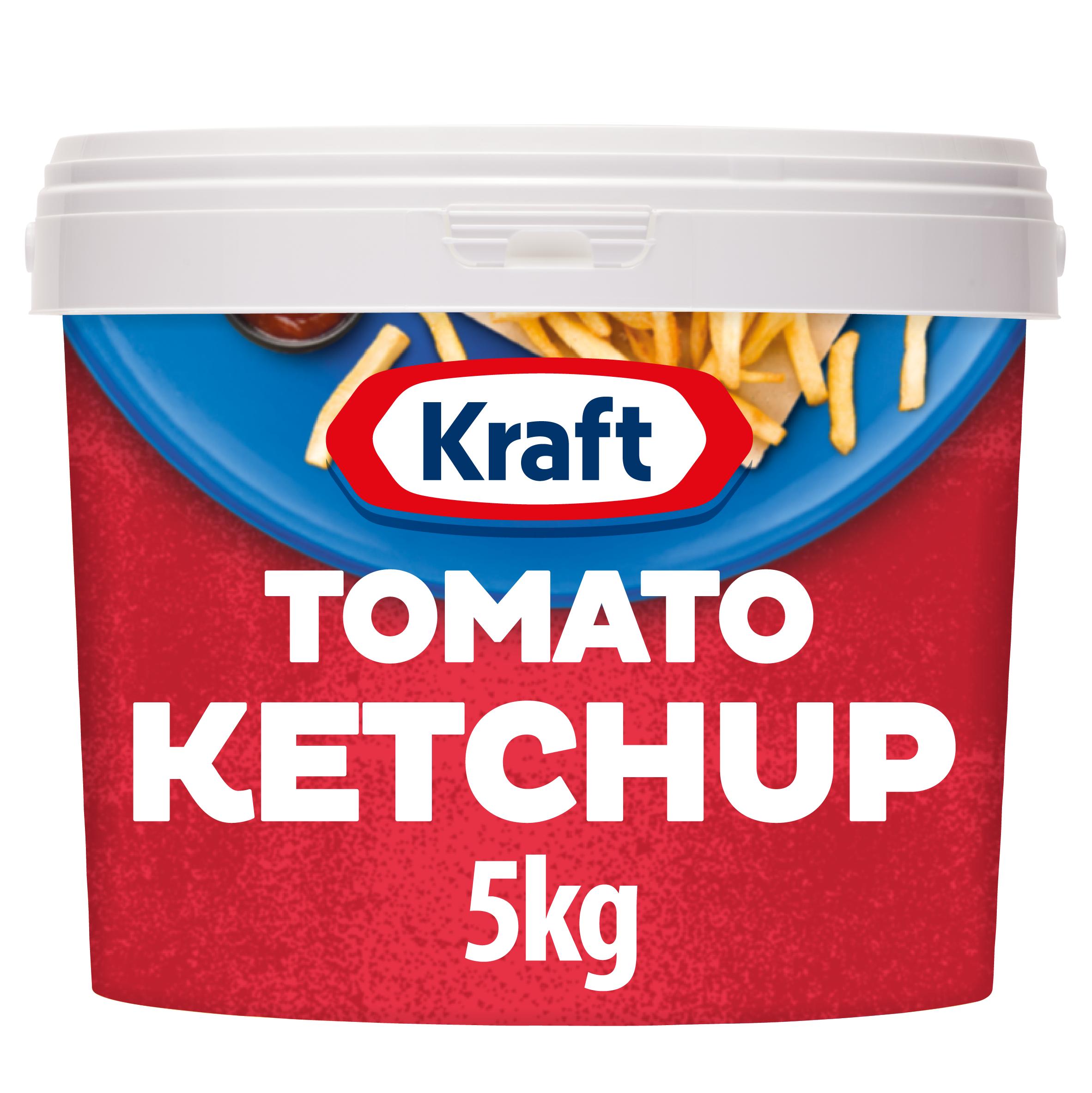 Ketchup Kraft 5kg wiadro