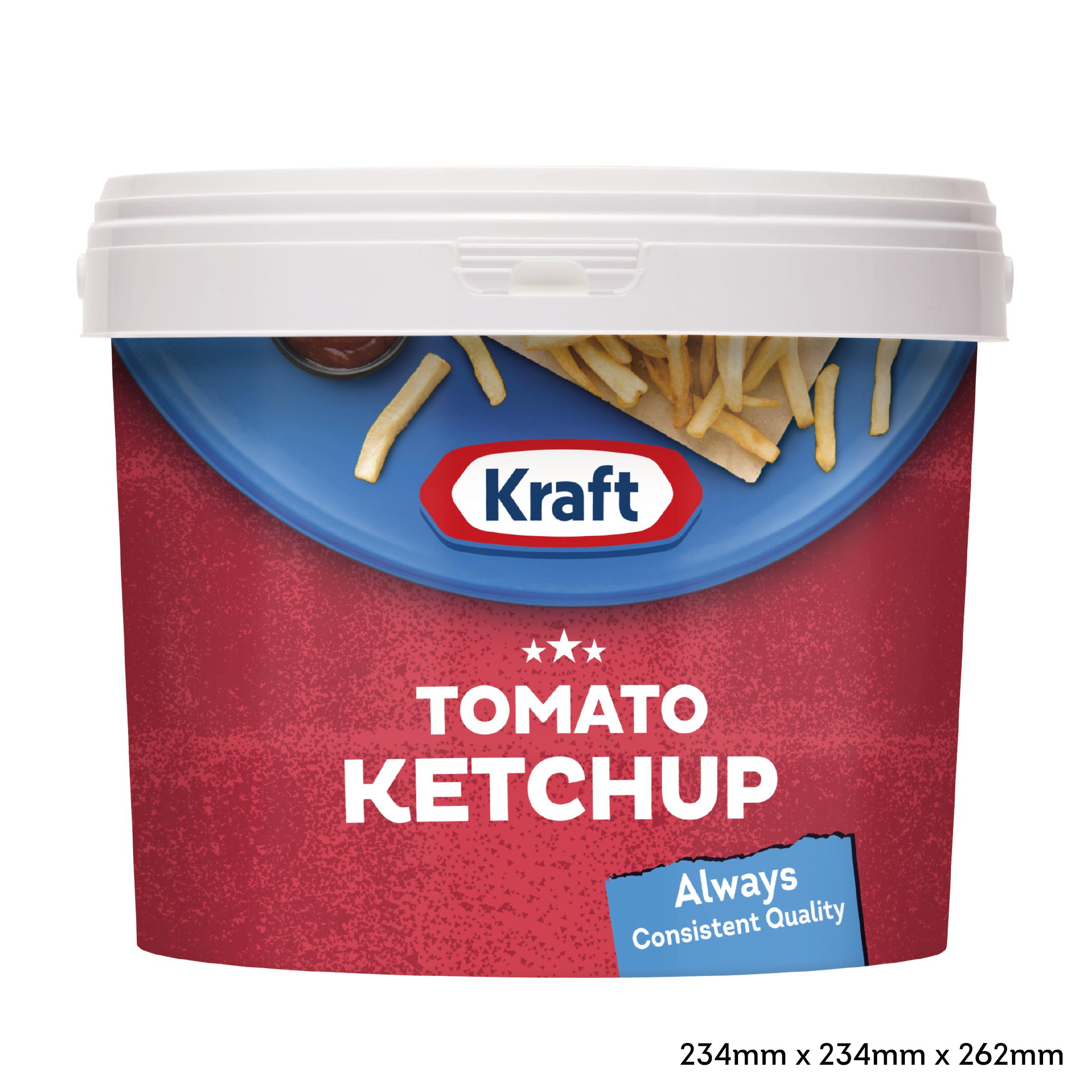 Kraft Tomato Ketchup 5kg Secchio